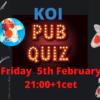 Koi Pub quiz